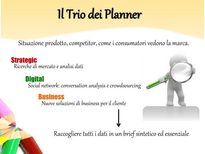 Il Trio dei Planner