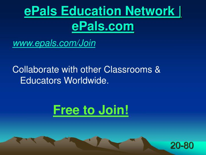 ePals Education Network | ePals.com