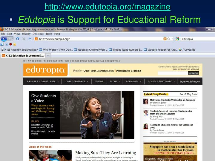 http://www.edutopia.org/magazine