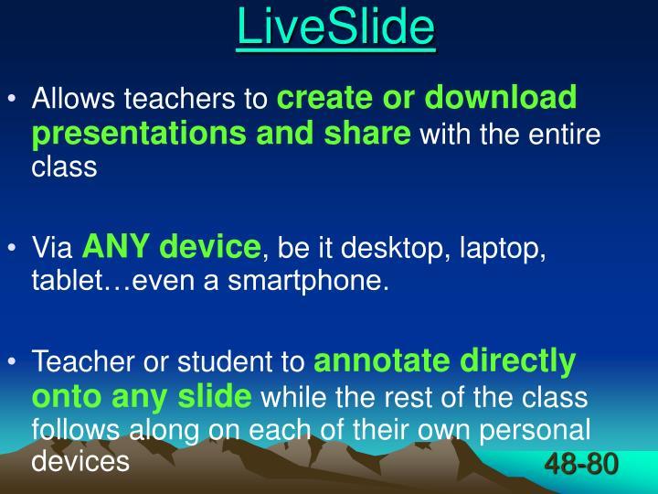 LiveSlide