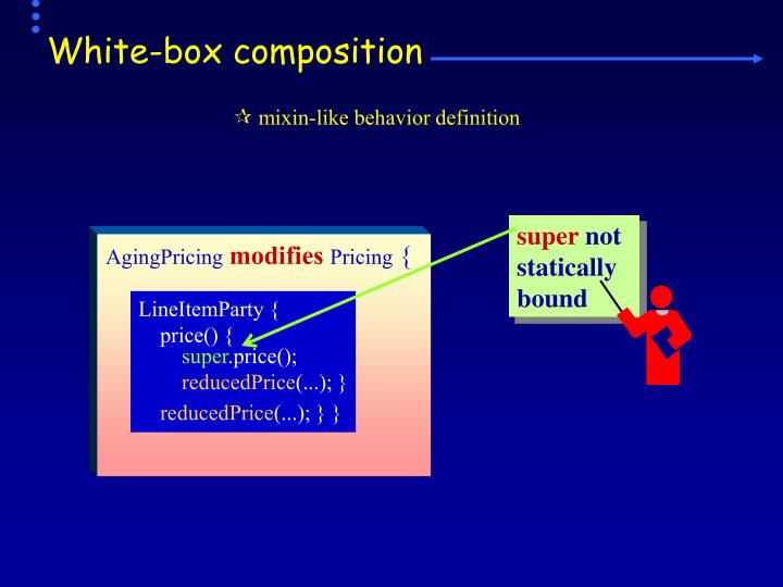 White-box composition