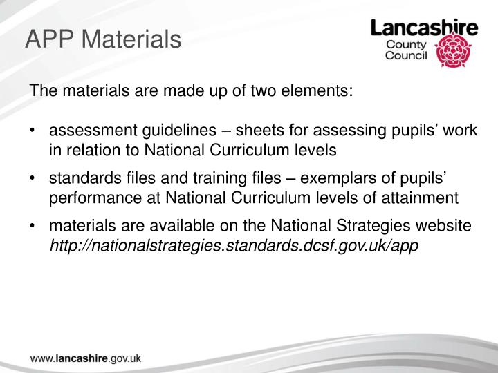 APP Materials