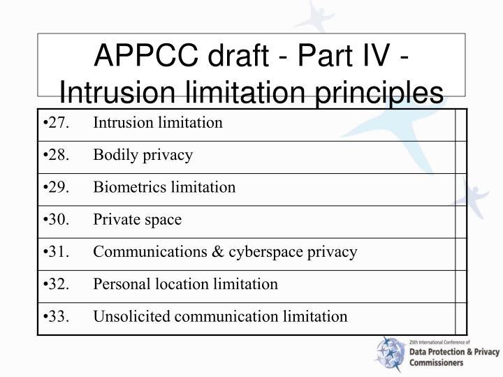 APPCC draft -