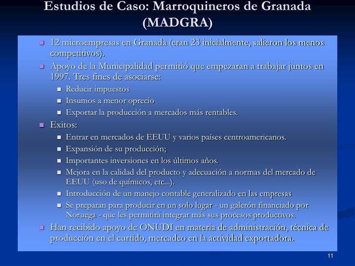 Estudios de Caso: Marroquineros de Granada (MADGRA)