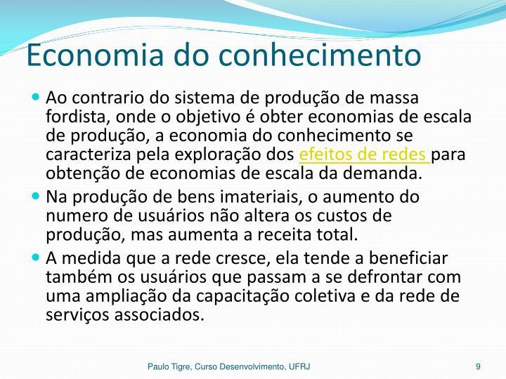 Economia do conhecimento