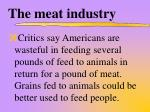the meat industry3