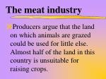 the meat industry4