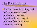 the pork industry4