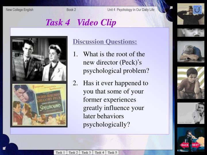 Task 4   Video Clip