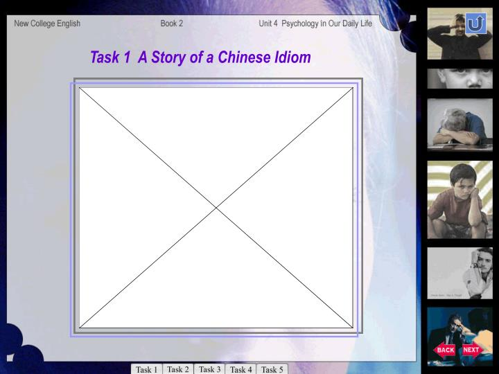 Task 1  A Story of a Chinese Idiom