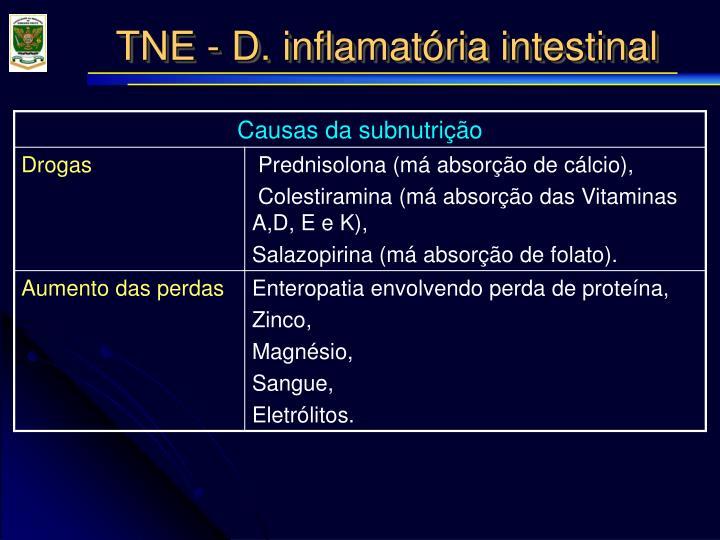 TNE - D. inflamatória intestinal