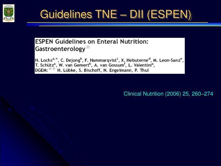Clinical Nutrition (2006) 25, 260–274