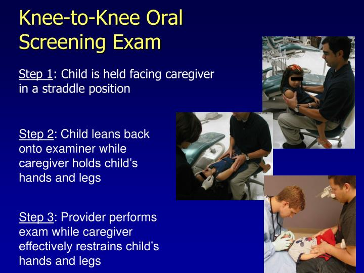 Knee-to-Knee Oral