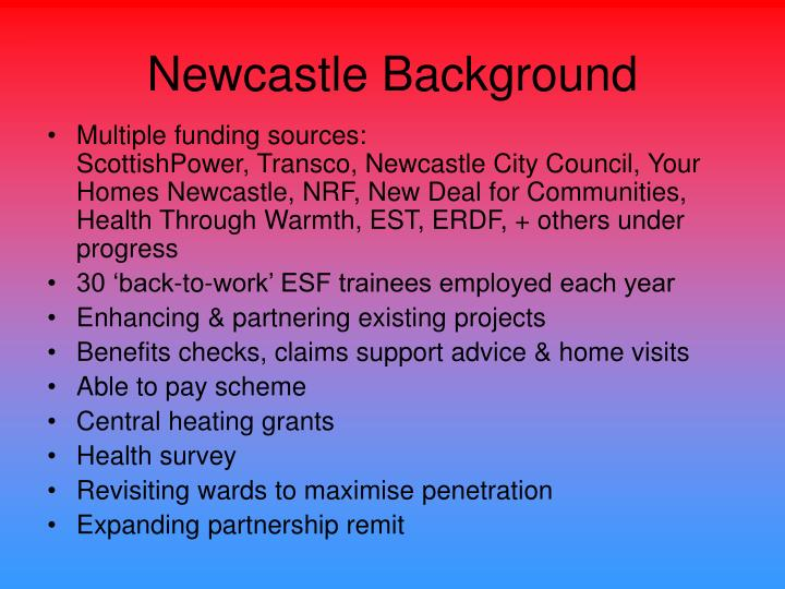 Newcastle Background