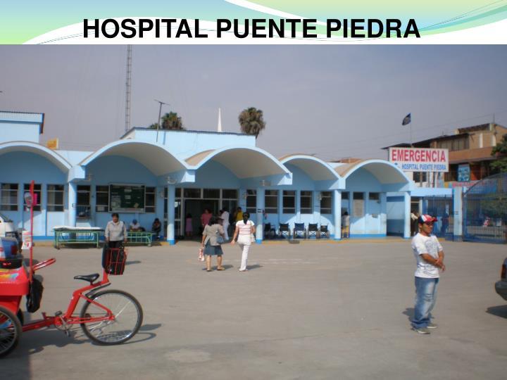 HOSPITAL PUENTE PIEDRA