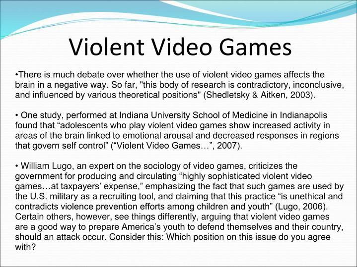 Violent Video Games