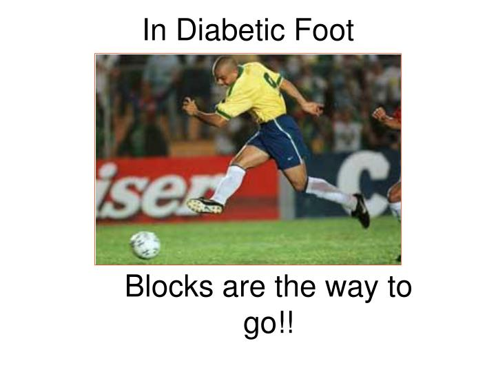 In Diabetic Foot