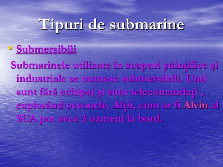 Submersibili