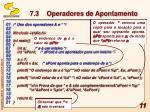 7 3 operadores de apontamento3
