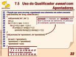7 5 uso do qualificador const com apontadores4