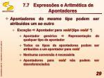 7 7 express es e aritm tica de apontadores5
