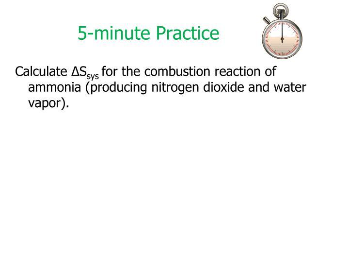 5-minute Practice