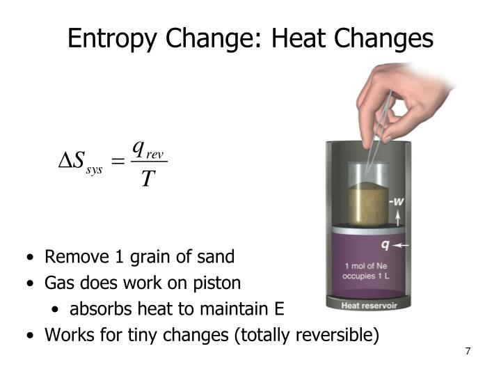 Entropy Change: Heat Changes