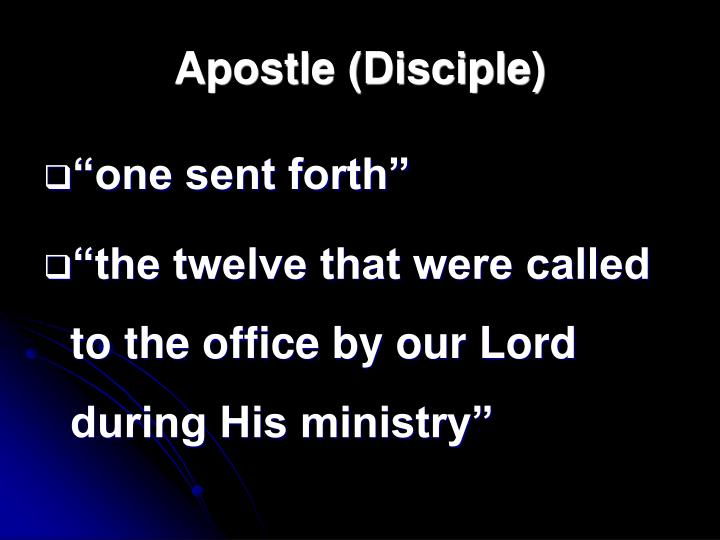 Apostle (Disciple)