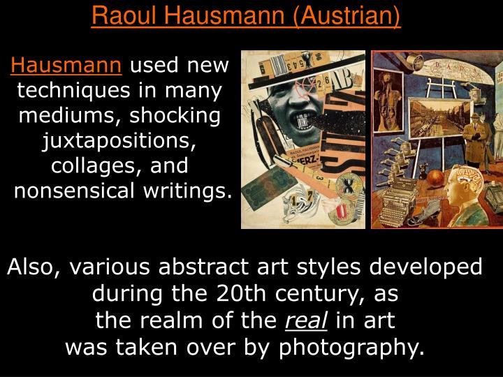 Raoul Hausmann (Austrian)