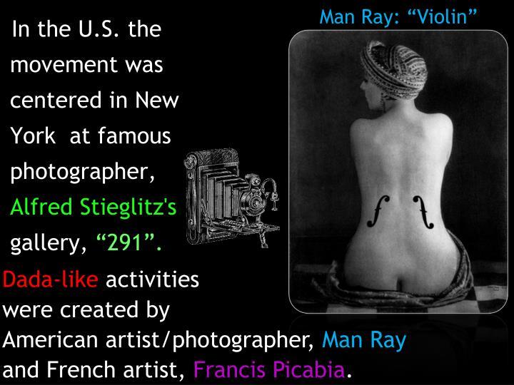 """Man Ray: """"Violin"""""""