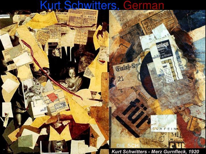 Kurt Schwitters,