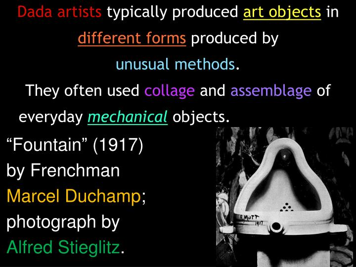 Dada artists