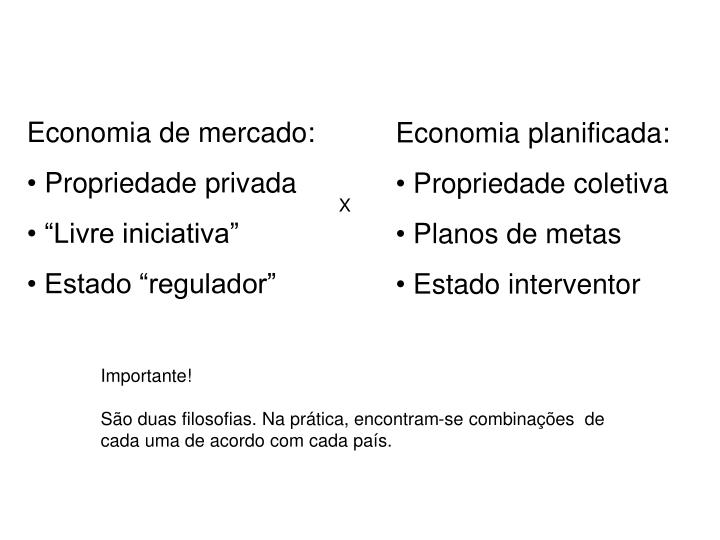 Economia de mercado: