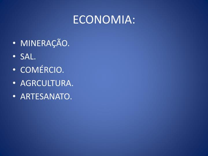ECONOMIA: