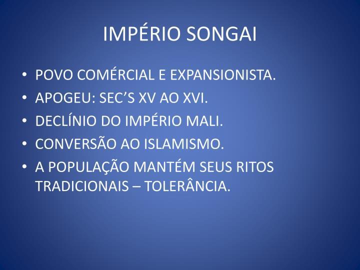IMPÉRIO SONGAI