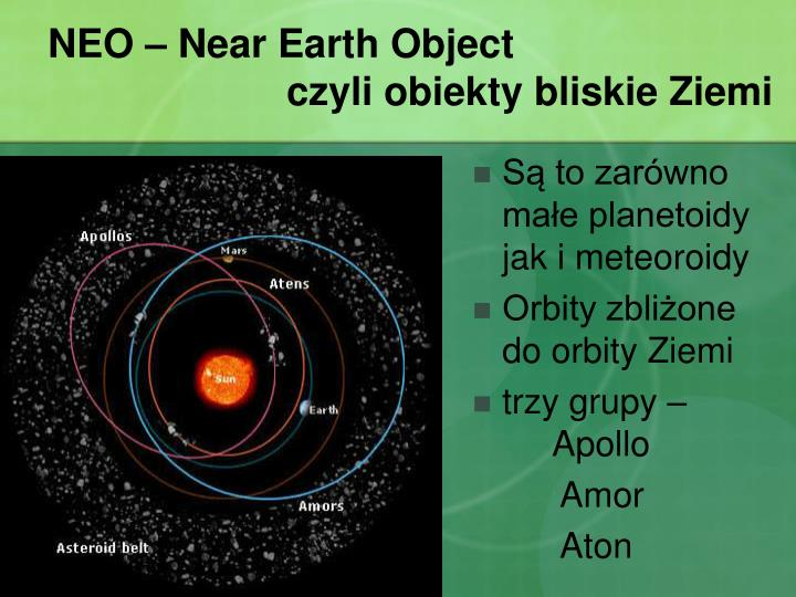 NEO – Near Earth Object