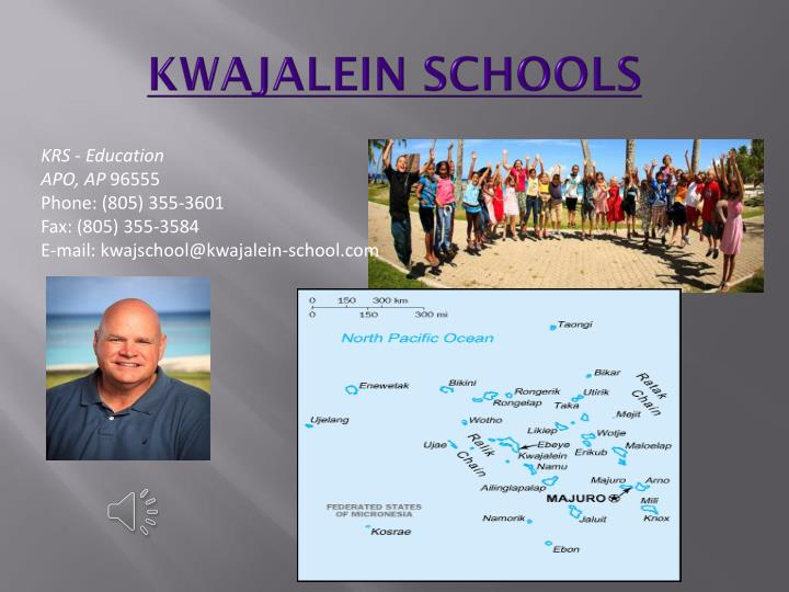 KWAJALEIN SCHOOLS
