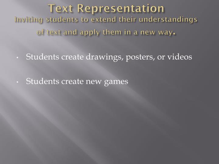 Text Representation