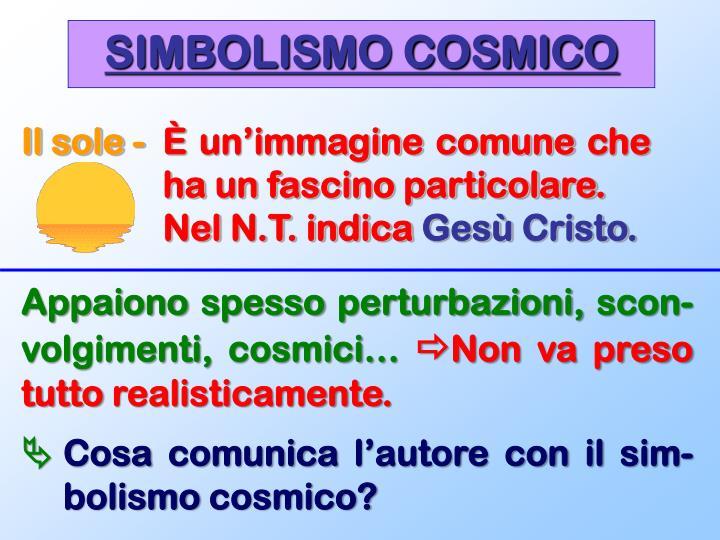 SIMBOLISMO COSMICO