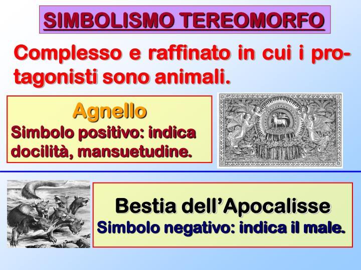 SIMBOLISMO TEREOMORFO