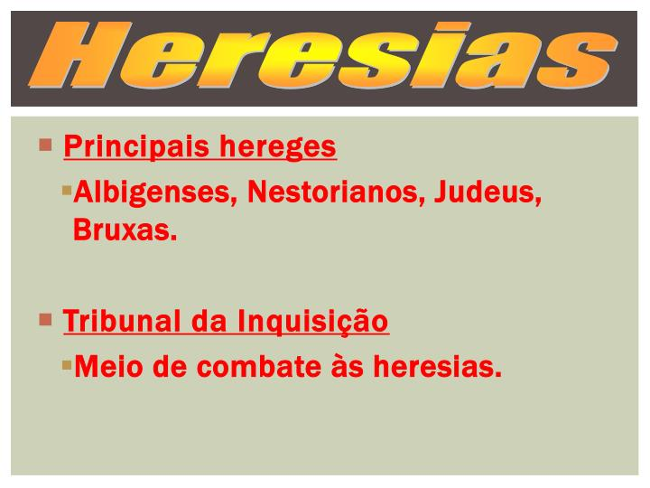 Heresias