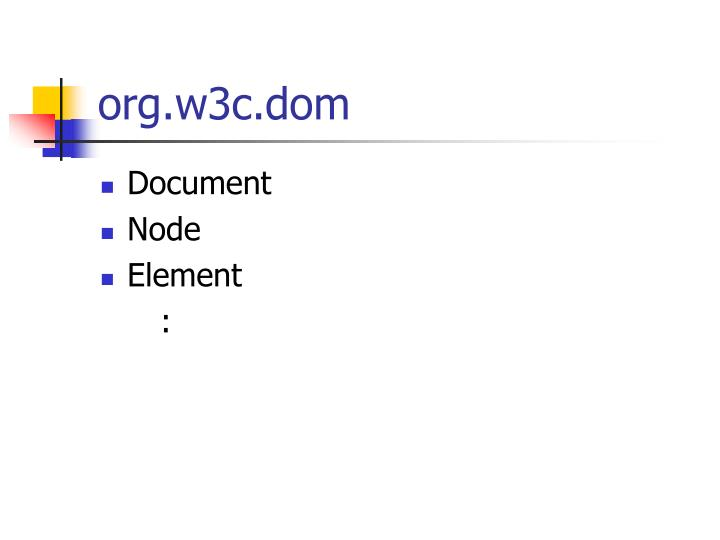 org.w3c.dom