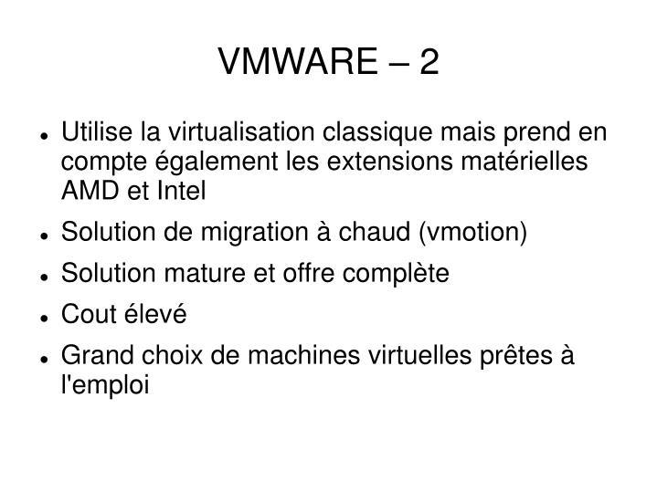 VMWARE – 2