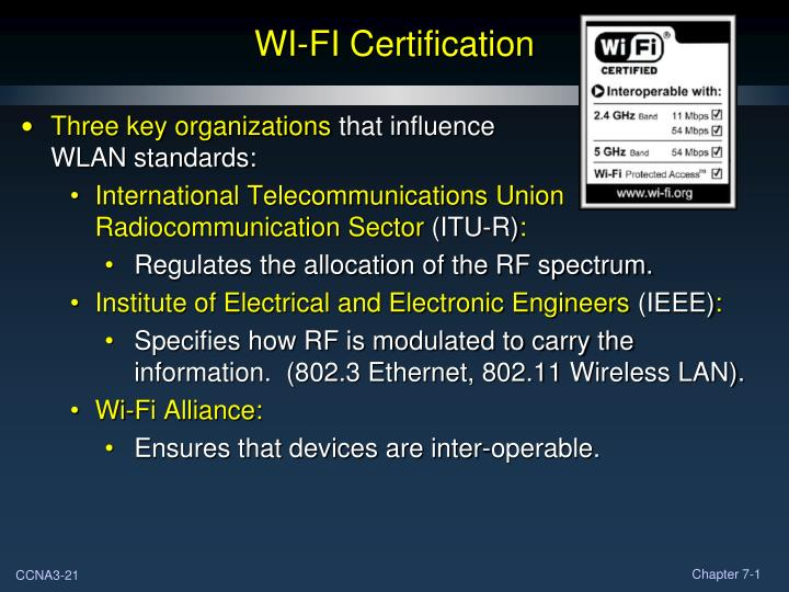 WI-FI Certification
