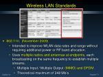 wireless lan standards6