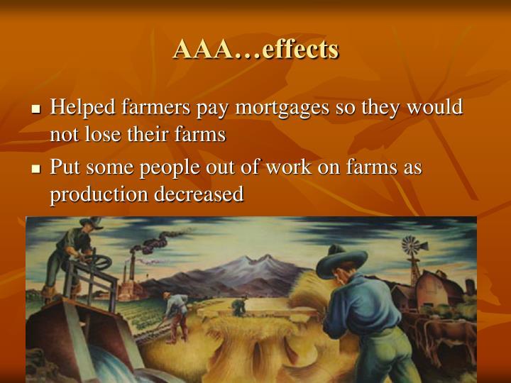 AAA…effects