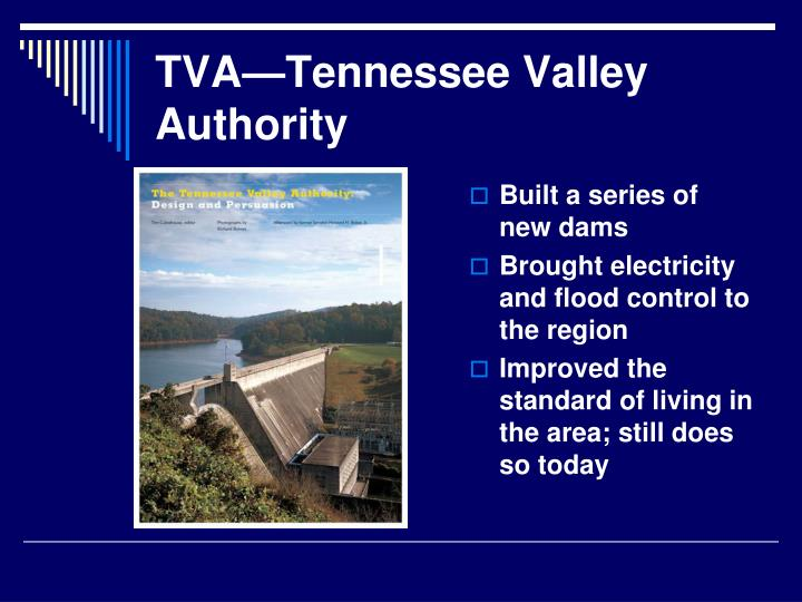 TVA—Tennessee Valley Authority