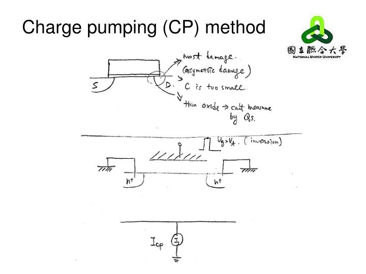 Charge pumping (CP) method