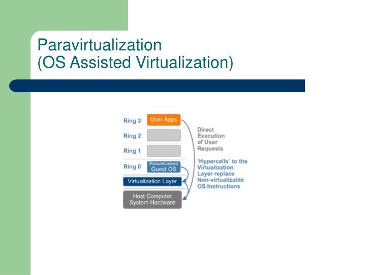Paravirtualization