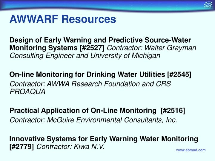 AWWARF Resources